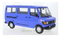 #180293 - KK-Scale Mercedes 208D Bus - blau - 1988 - 1:18