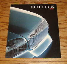 Original 1990 Buick Full Line Sales Brochure 90 Park Avenue Regal LeSabre