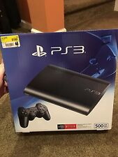 Sony PlayStation 3 PS3 Super Slim 500 GB Console New Factory Sealed CECH-4301C