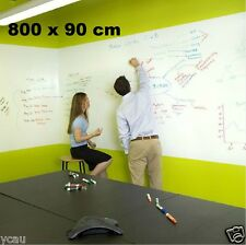 Large Whiteboard Sticker 800 x 90 cm 3 Dry Erase Markers a Mini Eraser