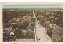 MONCTON, N.B., Canada, 30-50s; General View showing St. George Street