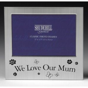 """5x3.5"""" We Love Our  MUM Photo Frame Birthday Mothers Day Christmas Gift Occasion"""