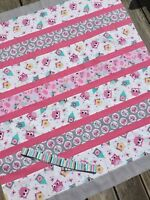 Baby Girl Complete Quilt KIT 'Owl School'