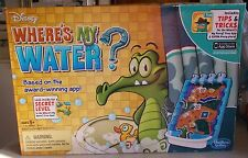 DISNEY WHERE'S MY WATER GAME BY HASBRO GAMING  AGES 5+ 1-2 PLAYERS