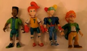 Lot 1990  Burger King Kid's Club Action Figures Jaws IQ Kid Vid Boomer Complete