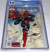 Avenging Spider-Man #9 CGC Comic Grade 9.8 1st Carol Danvers as Captain Marvel