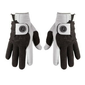 Footjoy Mens StaSof Winter Golf Glove (1Pair) 66801 - Pick Size