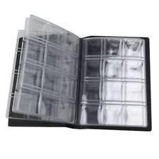 120 Bolsillos Organizador Pantalla Libro Álbum De Colección De Monedas