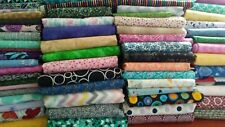 15 fat quarters fabric bundle no duplicates 100% cotton quilting high quality