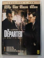 The Departed. Il bene e il male (Poliziesco  2006) DVD Martin Scorsese