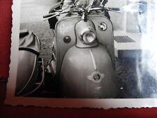1 original privat Foto Glas Goggo Motorroller  Dingolfing Oldtimer Motorrad