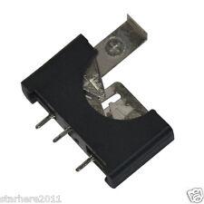 20 x CR2032 2032 3V Cell Coin Battery Socket Holder Case Black 5-2#