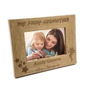 Personalised Fairy Godmother Photo Frame Gift FW154