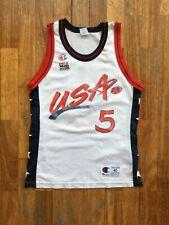 Grant Hill Champion Jersey USA Team 1996 size 40