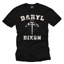 Walking Zombies Herren T-Shirt mit Daryl Dixon Dead - Männer Armbrust Shirt
