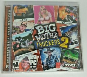 Big Mutha Truckers 2 NEW SEALED Jewel  PC Video Game