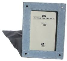 """Photo Picture Frame With Denim Fabric Edge 5"""" x 7"""" Brand New 130mm x 180mm"""