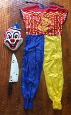 ROB ZOMBIE HALLOWEEN Young Michael Myers Clown Costume Jumpsuit Mask Knife 🔪