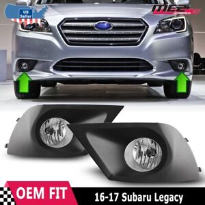 For Subaru Legacy 2015-2016 Driving Clear Fog lights Lamps
