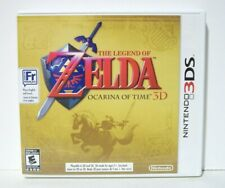 Zelda Ocarina of Time 3D Case Artwork Only NO GAME Nintendo 3DS First Print