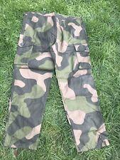 Norwegian Lightweight Combat Trousers 38 Waist RIP Stop 32 Long Leg