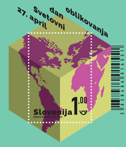 Slovenia 2018 * World Design Day - miniature sheet * MNH