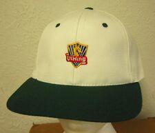 VIKING COMPANY baseball hat 1990s red banner logo w/ dragon shield Medieval