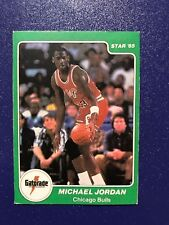 1985 Star Michael Jordan Rookie Card #7 - Gatorade Slam Dunk