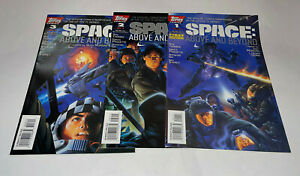 Space Above and Beyond #1-3 TOPPS Comic Books Set Complete 1996 Ken Steacy