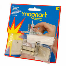MAGNART 12PCK | Neodymium Disc Magnet + backing plate | Art Paint Display #MB012