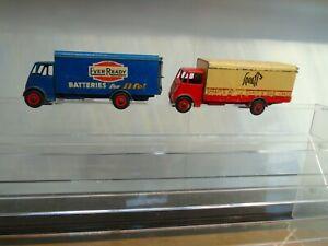 Dinky Guy Vans x 2  Ever Ready & Spratts 100% Original Ideal for Restoration