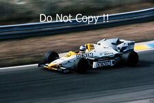Keke Rosberg Williams FW09B Dutch Grand Prix 1984 Photograph 2