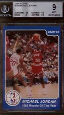 1984-85 Star #288 Michael Jordan Rookie of the Year  BGS 9 - None graded higher!