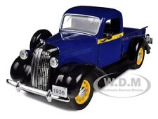 1936 DODGE PICKUP TRUCK BLUE 1:32 DIECAST MODEL CAR BY SIGNATURE MODELS 32383