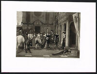 1890s Antique Marie De Medici Artist Rubens House Art Photogravure Print