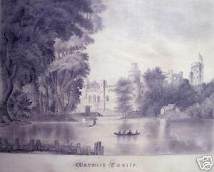 """Ella Ketchum: """"Warwick Castle,"""" ca. 1870"""