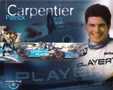 1998 Patrick Carpentier Players Mercedes-Benz Reynard CART postcard