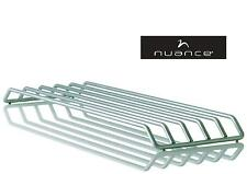 nuance design XL Topfuntersetzer 16x50 cm silber Untersetzer aus Stahl