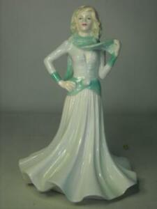 "Coalport TENDER THOUGHTS Figurine Ladies of Fashion  8.25"" Jack Glynn"