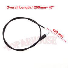 "47"" Throttle Cable For Mini Dirt Bike Baja 196cc MB165 5.5hp MB200 Hear Warrior"