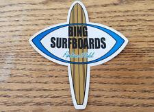 Bing Surfboard Sticker surfing surf  Longboard