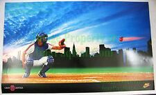 VHTF ☆ Vintage ☆ NIKE Baseball Poster ☆ Gary Carter 8 ☆ New York Mets MLB ☆ PDC
