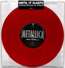 "METALLICA: Until it Sleeps Limited Edition 10"" Single Vinyl NEW"