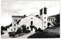 Ansichtskarte Volkshochschule Hesselberg über Gunzenhausen - schwarz/weiß