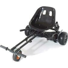 GoMonster Hoverkart  Hoverboard Seat - Black