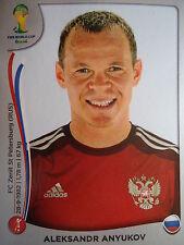 Panini 609 Aleksandr Anyukov Russland FIFA WM 2014 Brasilien