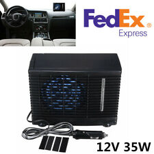 Portable 12V 3A ABS Evaporative Air Conditioner Air Cooler Fans For Home/Car/SUV