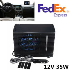 Portable 12V 3A Abs Evaporative Air Conditioner Air Cooler Fans For Home/Car/Suv(Fits: More than one vehicle)