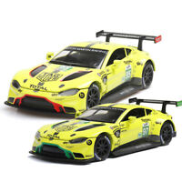 Aston Martin Vantage GTE Racing Car 1:32 Model Car Diecast Gift Toy Vehicle Kids