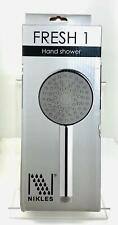 NIKLES Fresh 1 RAIN Hand Shower D1205F High End Shower Hand Held NEW